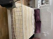 Ikea Bett mit Matratze und