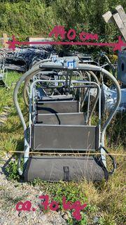 2er Sessellift Sessel Deko Garten