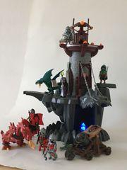 Playmobil Drachenturm und Drachenritterset mit