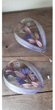 Wandlampen Leuchte Wand Bleikristall Blumendekor