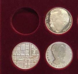 Münzen - 5 Mark Gedenkmünzen in Spiegelglanz