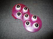neu massage-handschuh lila rollende kugeln