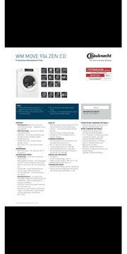 Waschmaschine Bauknecht WM MOVE 934