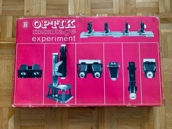 DDR Optik Montage Experiment