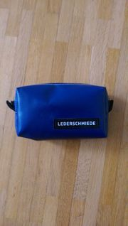 Tasche Lederschmiede Gürteltasche blau