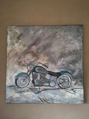 Acrylbild Harley Davidson