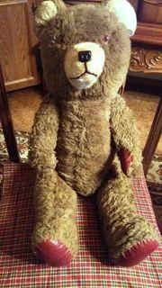 Teddybär 64 cm groß braun