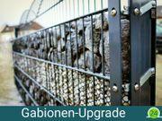 ZAUNIVERSUM Gabionen-Upgrade Nachrüstset für 1