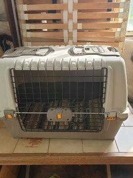 Zubehör für Haustiere - HUNDEBOX Hundetransportbox Hundegitter Hundebett Hunderzwinger