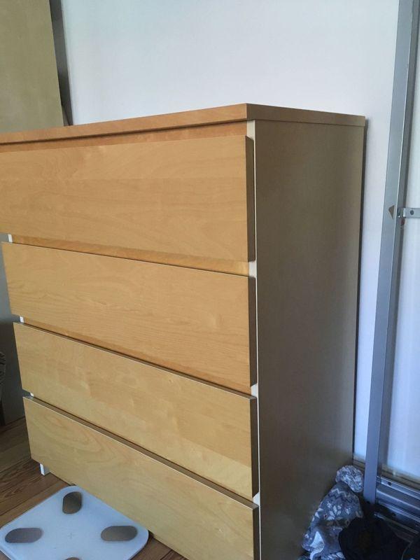 Ikea Malm Kommode Holz in Hamburg - IKEA-Möbel kaufen und verkaufen ...