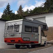 oldtimer Wohnmobil Renault Tabbert m