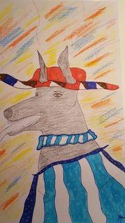 Dobermann - Bild - Hund - Ein fröhlicher