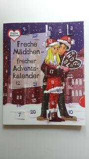 Adventskalender Buch Freche Mädchen