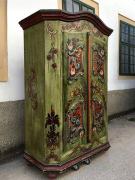 Bild 4 - Bauernschrank Zustellung möglich Kleiderschrank Schrank - Gutenstein