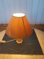 Nachttischlampe Lampe Keramik Beistelllampe Schlafzimmerlampe