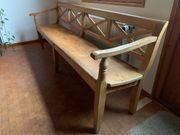 Antike große Holzbank