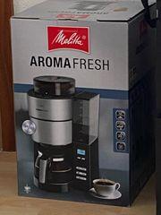 Melitta Aromafresh Filterkaffeemaschine mit Mahlwerk