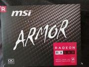 rx580 MSI ARMOR 8gb Grafikkarte