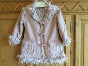 Mädchen Frühjahrsjacke Mantel Größe 128