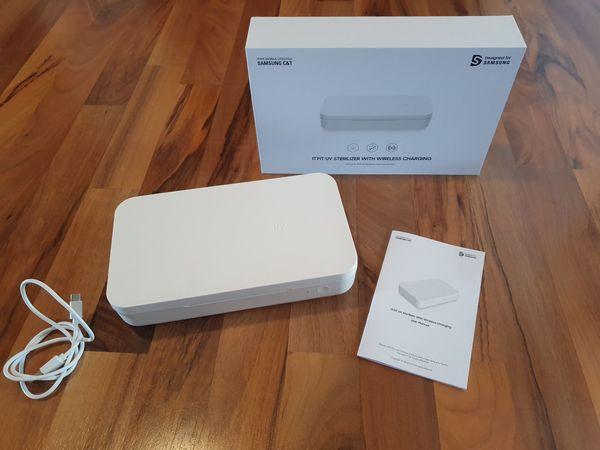 SAMSUNG UV-Desinfektionsbox mit induktiver Ladefunktion