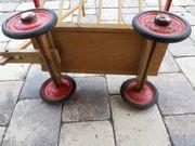 Leiterwagen aus Holz