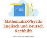 Nachhilfe in Mathe Physik Deutsch