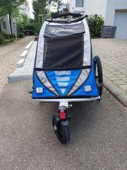 Qeridoo Sportrex 1 Fahrradanhänger für