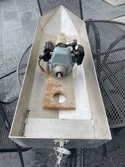 RC Boot aus Aluminium mit