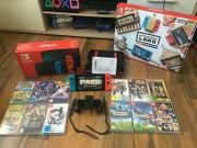 Nintendo Switch mit 12 Spiele