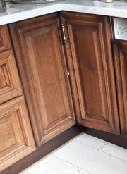 Küchen-Eck-Unterschrank mit Karussell