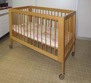 Kinderbett Paidi mit Matratze und