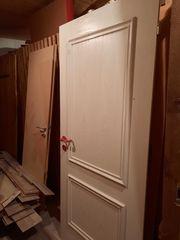 Wohnungstür weiß Holz 86 DIN
