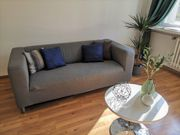 Ikea Klippan Sofa Grau