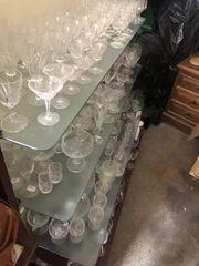 Hochwertige Gläser verschiedener Marken bis