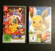 2 Pokemonspiele für die Nintendo