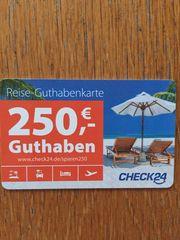 250 Reisegutschein CHECK24