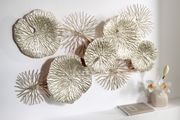 Wand-Deko heine home Metall Blätter