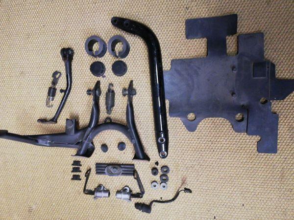 Yamaha XJR 1300 diverse Rahmenteile