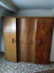 VINTAGE Kleiderschrank Holz