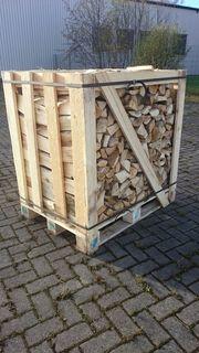Mischholz Brennholz Kaminholz ofenfertiges Feuerholz