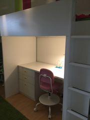 Top Stuva Hochbett mit Schreibtisch