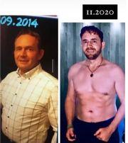 Fit-Konzept Gewichtsverlust Gesunde Ernährung