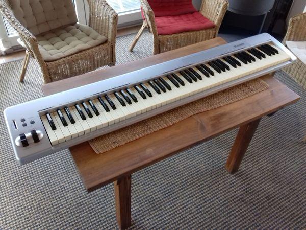 M-Audio Keystation USB MIDI Tastatur