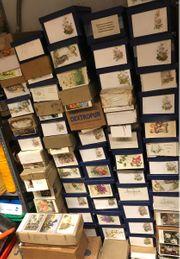 ca 100 000 Postkarten von