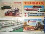 Märklin Kataloge Magazine Fleischmann Roco