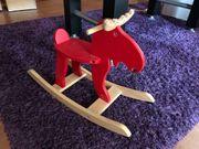 Ikea Elch Schaukelelch Schaukelpferd Holz