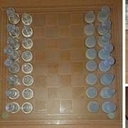 Schachspiel aus Glass