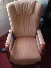 elektrischer Sessel zu verkaufen gegen