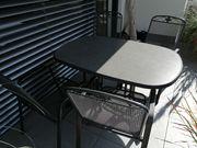Gartengarnitur Gartentisch und 4 Stühle