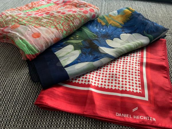 3 Damen Halstücher Tuch Schal